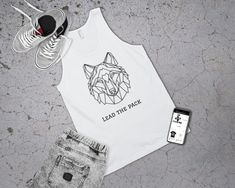 This men's wolf tank top is for anyone who felt they were a born leader, leading the pack! Or maybe just a little bit wolfy? Well whatever the case might be, lead your pack with this awesome geometric wolf tank top. This comfortable yet fashionable tank top is ideal for any summer outfit or even awesome gym clothing ;)