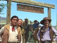 Vaquero,Sam,Reno,Joe und Pedro von High Chaparral