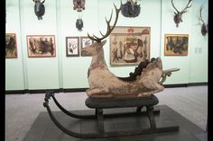 Germanisches National museum Unbelievable sleigh!  Can't you just picture Santa in this???