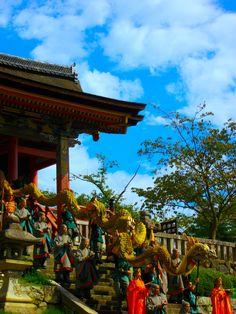 Dragon au Kiyomizudera 清水寺, Kyôto 京都市