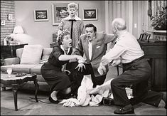 I Love Lucy: Lucy Goes to the Hospital (1953)  - Lucy gave birth in real life 12 hrs before this episode aired  - Seen by 44M viewers that night; considered the most watched episode of all time