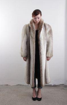 Vintage Faux Fur Coat Find a great fur coat in Toronto - visit the Yukon Fur Co. at http://yukonfur.com  *Cruella