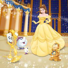Disney Princess: Belle:)