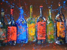 """Wine in the Dark"" 18x24 oil on canvas. This original was donated to Missoula Catholic Schools BASH sold for $2100.00 https://www.facebook.com/pages/Jodi-Monahan-Artistry/111895475495265"