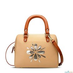 Add freshness to your style with Beige Bloom Lady Bag from Oasis Leather.