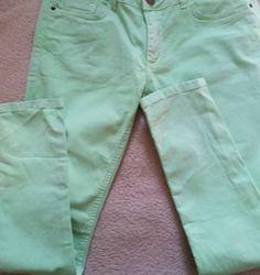 calça verde - calças canal