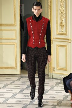 Alexis Mabille Fall 2012 Menswear Collection Slideshow on Style.com