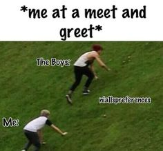 Hehe at an R5 meet and greet,.... Oh.. How sad this is so true...