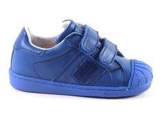 CKS sneakers  cobi 26205-0500 blauw  (maat 24-34)