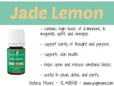 Jade Lemon Essential Oils Benefits