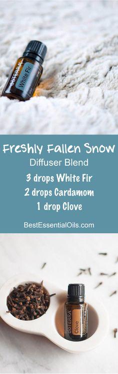 Freshly Fallen Snow doTERRA Diffuser Blend