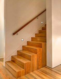 Staircase To Attic Design Ideas, Pictures, Remodel, and Decor - page 3 Wall Mounted Handrail, Stair Handrail, Handrail Brackets, Railings, Attic Renovation, Attic Remodel, Attic Staircase, Attic Ladder, Wood Staircase