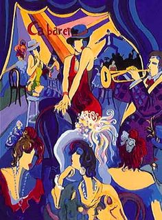 Isaac Maimon Fine Art Carbaret