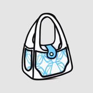 Real purses that look 2D