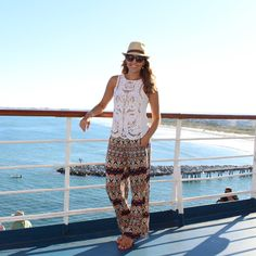 Cruise ship outfit: What I Wore