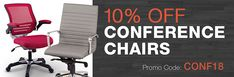 10% Off Orders Over $250 with promo code OCH418 for office #chairs at #OfficeChairs Ends 4/30 http://www.offers.hub4deals.com/store-coupons?s=Office-Furniture