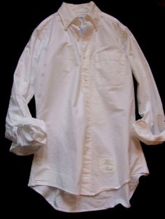 Thom Browne, Classic Oxford Button Down Shirt, Hand Made in U.S.A.