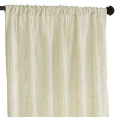 Frills Curtain - Ivory - Pier 1 - My curtains for upstairs.