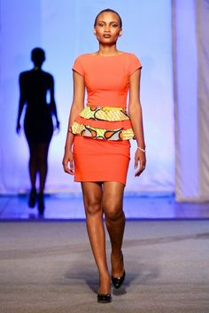 Mamy Kapend @ Kinshasa Fashion Week 2013 | FashionGHANA.com
