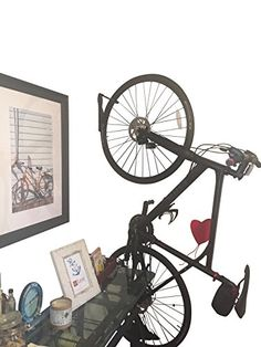 Caden Vertical Front Wheel Bicycle Wall Mount - The Hipster ** More info could be found at the image url.