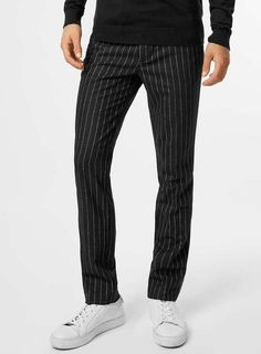 168a8ee7 11 Best Pinstripe Pants images | Man fashion, Outfits, Pants
