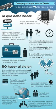 (notitle) - (from - Consejos para Viajes Travel Checklist, Packing List For Travel, Travelling Tips, Traveling, Cheap Places To Travel, Travel Abroad, Vacation Trips, Travel Around The World, Travel Size Products