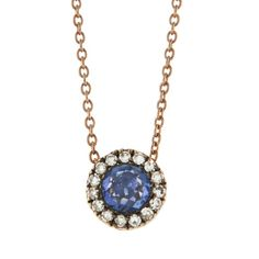 Selim Mouzannar Rose Cut Blue Sapphire and Diamond Pendant Necklace ($1,015) ❤ liked on Polyvore featuring jewelry, necklaces, blue, blue pendant necklace, antique diamond pendant, antique pendant necklace, antique pendants and diamond pendant