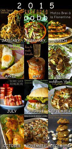 12 Most Popular Recipes of 2015 – weekend recipes A Food, Good Food, Yummy Food, Melon Cake, Cauliflower Steaks, Most Popular Recipes, Top Recipes, Food Blogs, Kimchi