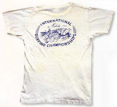 Surfing Championships Tee T Shirt Logo Design, Tee Design, Shirt Designs, Vintage Surf, Vintage Type, Fashion Photography Art, Surf Logo, Vintage Sportswear, Apparel Design