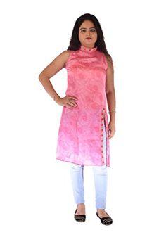 RP Boutique Long Stylish Pink Polyester Kurti RP Boutique http://www.amazon.in/dp/B01M5DBWXM/ref=cm_sw_r_pi_dp_x_E2Weyb0JKRDD1