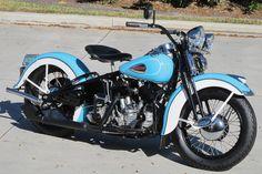 vintage harley davidson   1940 Harley-Davidson U Flathead #HarleyDavidson #Vintage