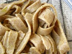 Flax pasta (paleo, gluten/grain/corn/soy/dairy free)
