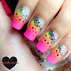Instagram photo by nailsbyvaish  #nail #nails #nailart