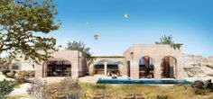 Cappadocia Hotel by Global Architectural Development (GAD) Parametric Architecture, Classical Architecture, Ecology Design, Underground Cities, Walking Paths, Cappadocia, Design Strategy, Istanbul, Tourism