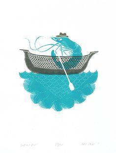 Shrimp Boat by *JayCrum on deviantART