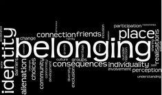 Belonging place identity