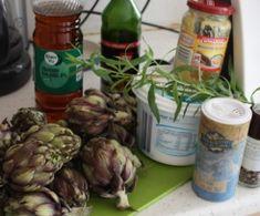 Artichauts vapeur et sa sauce légère by Marina.S on www.espace-recettes.fr