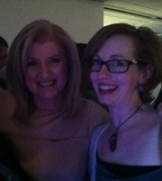 Arianna Huffington and BritMums co-founder Jen Howze