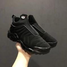 Cheap Nike Air Max Plus Slip SP TN All Black Mens shoes Only Price  60 To  Worldwide and Free Shipping!! WhatsApp 8613328373859 67979278e