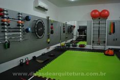 67 Ideas For Fitness Design Gym Basements