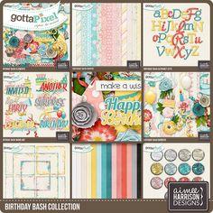 Birthday Bash Collection :: Gotta Grab It :: Gotta Pixel Digital Scrapbook Store by Aimee Harrison
