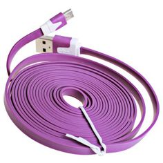 3m Noodle Style Micro USB Cable with Noodle Appearance Design #shoes, #jewelry, #women, #men, #hats, #watches, #belts