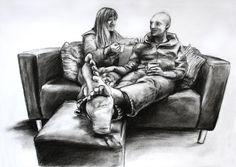 """It's Always Nice to Have a Cuppa Tea"" - Artwork by Matthew Ziranek Cuppa Tea, Art Gallery, My Arts, Africa, Statue, Nice, Drawings, Illustration, Creative"