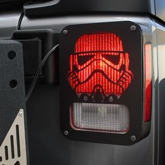 Jeep Wrangler Accessories - Black Tail Light Guard  Stormtrooper For Rear Tail Light Cover for 2007 - 2018 Jeep Wrangler JK Unlimited - Pair Jeep Wrangler Lights, Jeep Wrangler Jk, 4x4, Jeep Parts, Jeep Accessories, Light Covers, Tail Light, Design Show, Aluminium Alloy