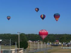 Balloons Over Waterford Sports Complex