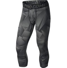 Nike Men's Pro Hypercool Shattered Three Quarter Compression Tights | DICK'S Sporting Goods