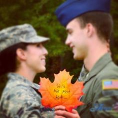 First deployment pictures . Air Force couple. #military