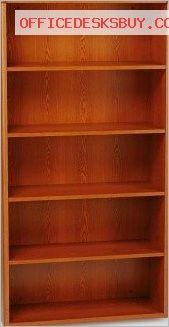 HON 10755J 10700 Series Bookcase - Henna Cherry - http://officedesksbuy.com/hon-10755j-10700-series-bookcase-henna-cherry.html