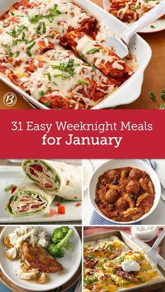 Who says warm and cozy has to take forever? Most of these family-pleasing meals are ready in 30 minutes or less!