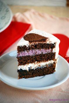 Kuchnia wegAnki: Tort urodzinowo - walentynkowy
